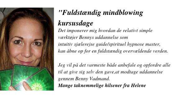 Spirituel hypnose udtalelse Helene