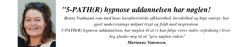 Hypnose uddannelse Marianne
