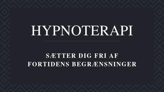 hypnoterapi sæt dig fri